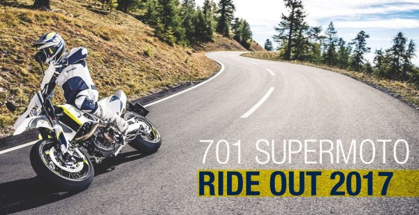 Гоночный этап 701 Supermoto Ride Out 2017 стартует в апреле