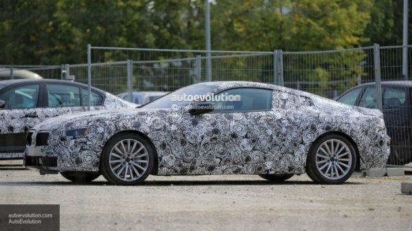 В сети появилось фото новой BMW 8-series