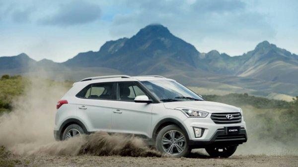 Hyundai Creta стал самой популярной автоновинкой в России