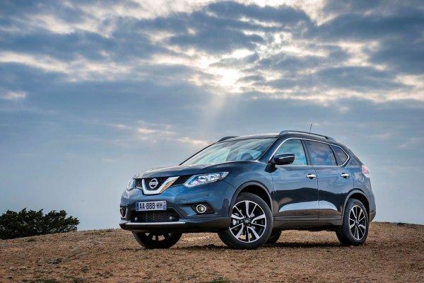 Nissan X-Trail в январе стал бестселлером бренда в России