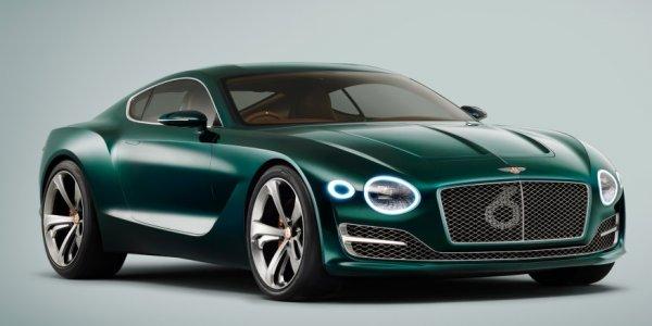 Bentley Continental GT начал проходить тестирование в новом камуфляже