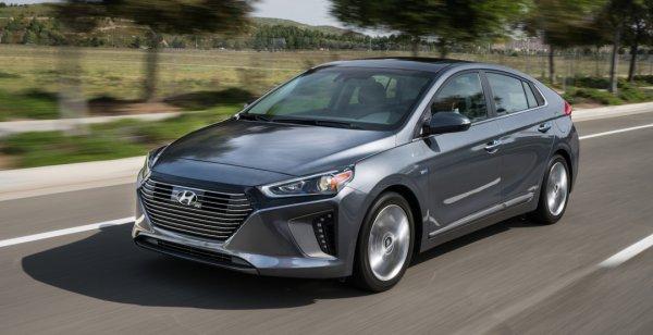 Объявлены цены на новую «пятидверку» Hyundai Ioniq