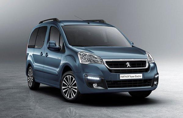 Peugeot в Женеве представит электроминивэн Partner Tepee Electric
