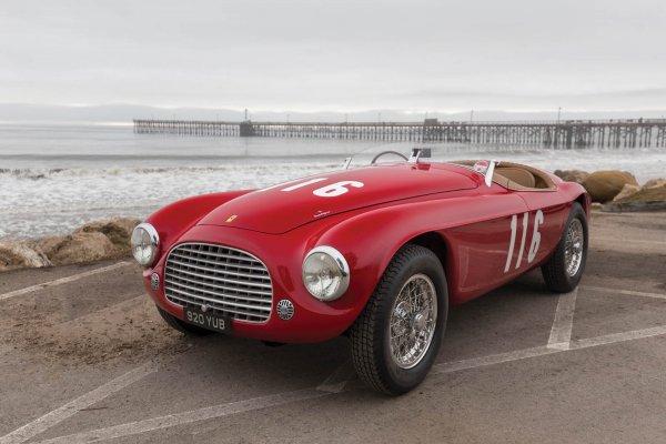 Одна из первых моделей Ferrari выставлена на аукцион