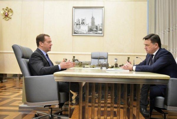 Медведев назвал завод Mercedes знаком качества экономики Подмосковья