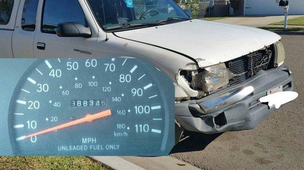 Toyota Tacoma 2000 с пробегом почти 1,6 млн км выставлен на продажу