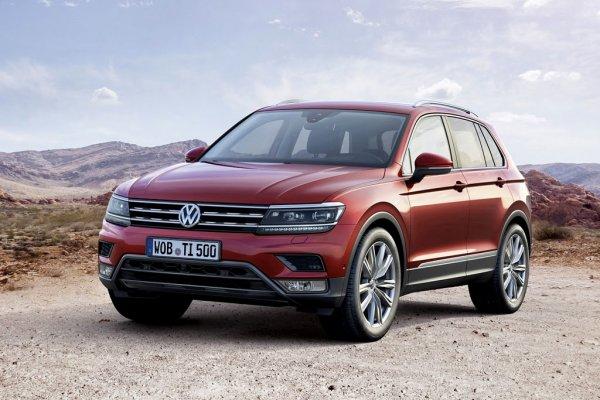 Новый Volkswagen Tiguan в январе стал самым популярным SUV в Европе