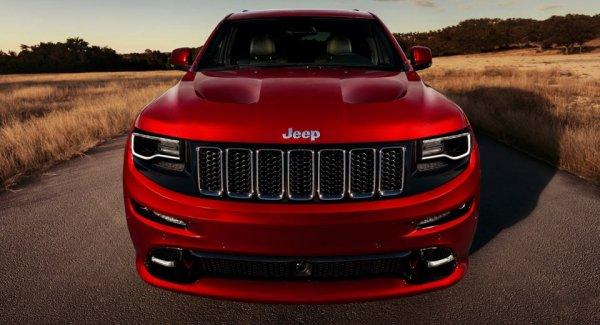 Внедорожник Jeep Grand Cherokee Trackhawk дебютирует в Нью-Йорке