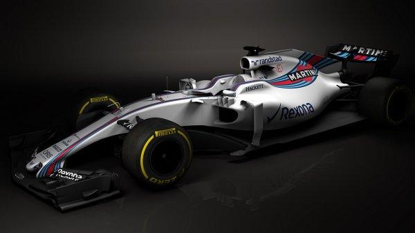 Опубликованы первые снимки нового болида Williams F1 2017