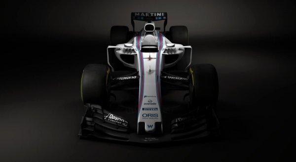 Рассекречен первый болид Формулы-1 сезона-2017