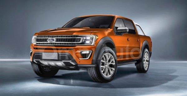 Появились фотографии рендера Ford Ranger 2019