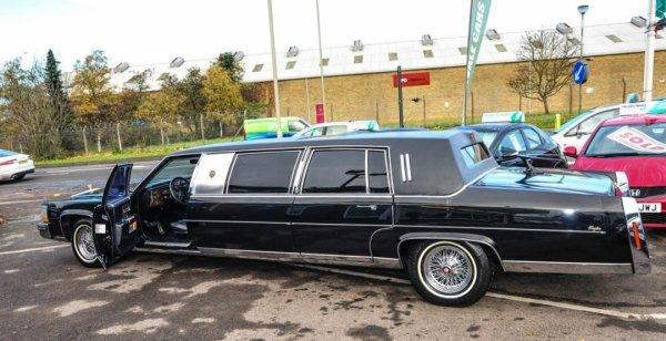 На аукционе в Великобритании продается лимузин Трампа