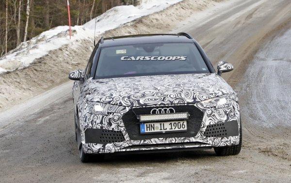 Обновлённый Audi RS4 Avant начал проходить тестирование