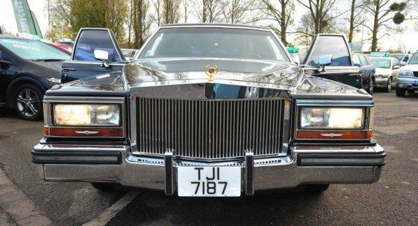 В Великобритании выставлен на продажу лимузин Трампа