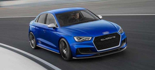 Стали известны американские цены на Audi RS3