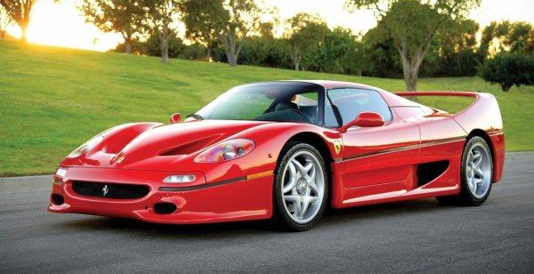 Ferrari F50 Майка Тайсона выставят на продажу