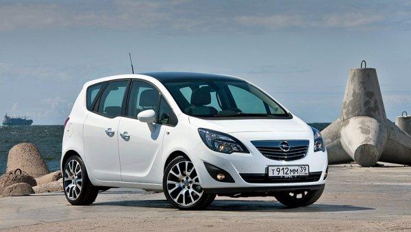Opel отзывает минивэны Meriva в России из-за проблем с ремнём безопасности