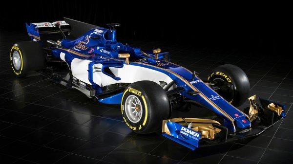 Команда Sauber рассекретила новый болид для сезона-2017