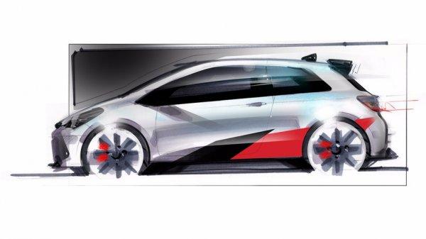 Toyota Yaris GRMN получит 1,8-литровый турбированный двигатель
