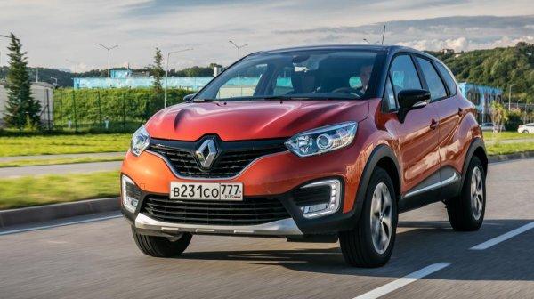 Renault Kaptur в январе приблизился по объёму продаж в РФ к Duster