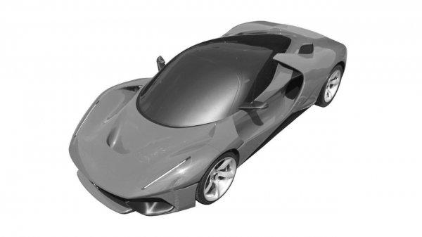 Ferrari запатентовала «загадочное» купе в стиле LaFerrari