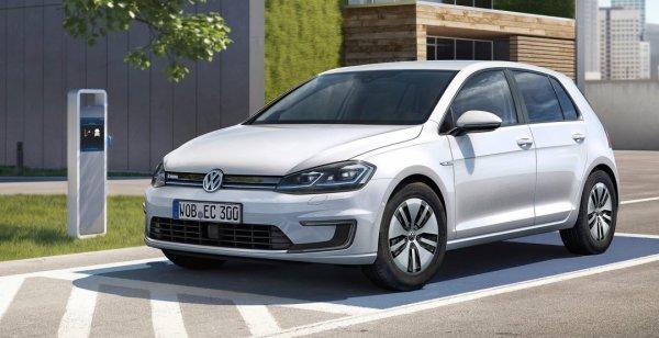 Volkswagen озвучил цены на обновленный E-Golf