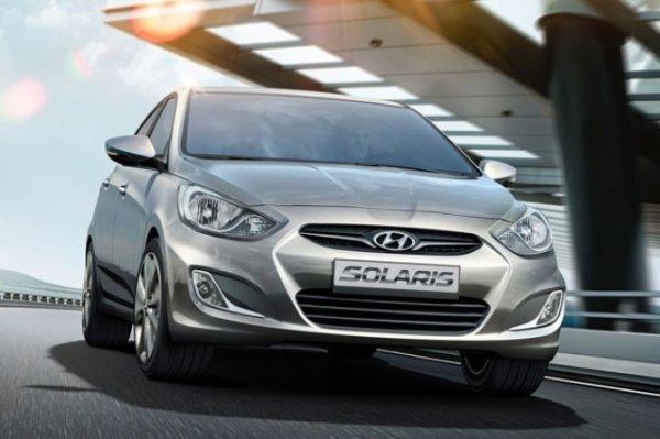 Hyundai Solaris стал самым продаваемым трехлетним автомобилем