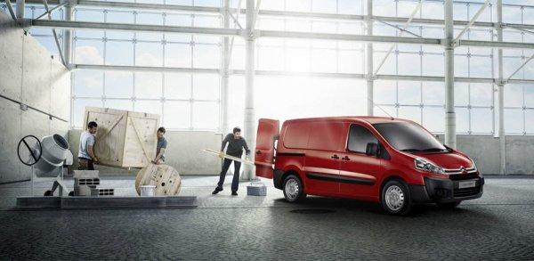 Фургон Citroen Jumpy готовится к российской премьере