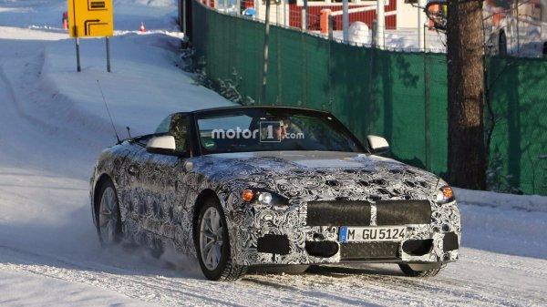 Фотошпионы засняли BMW Z5 во время тестов в Швеции