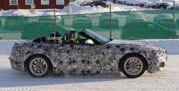 Сделаны фото BMW Z5 с открытым верхом