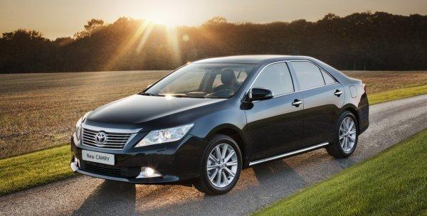 Корпоративные продажи Toyota в России выросли на 12%