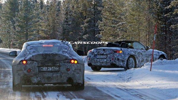 Фотошпионы запечатлели общие спорткары BMW и Toyota