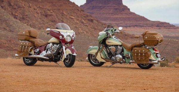 Indian Motorcycle презентовали дополнения для  Roadmaster Classic