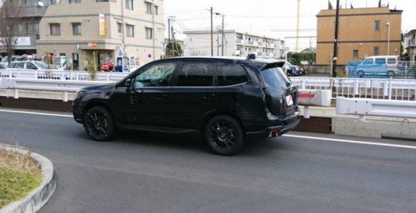 Опубликованы шпионские фото нового Subaru Forester