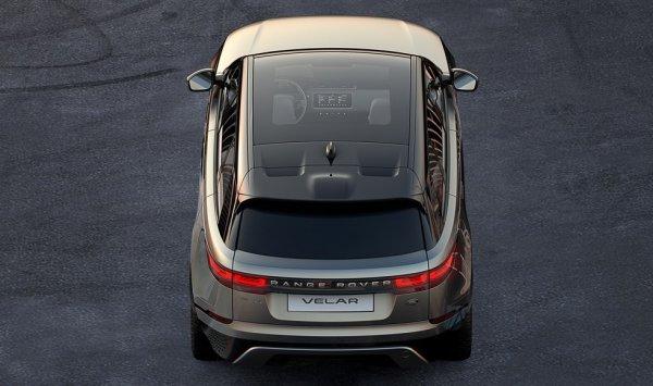 Опубликованы первые тизеры нового кроссовера Range Rover Velar