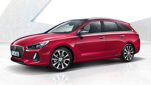 Появились официальные фотографии универсала Hyundai i30 Wagon