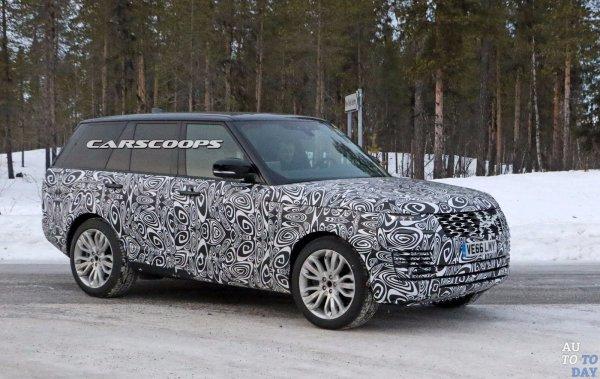 Внедорожник Range Rover Plug-In Hybrid проходит тесты в снегах