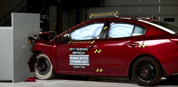 Subaru Impreza признана самой безопасной машиной в своём сегменте