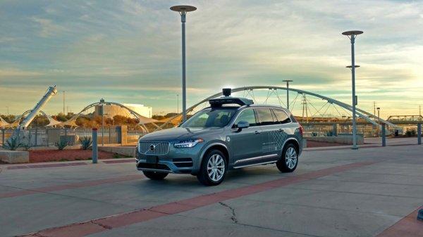 Беспилотники Uber начали перевозить пассажиров в Аризоне