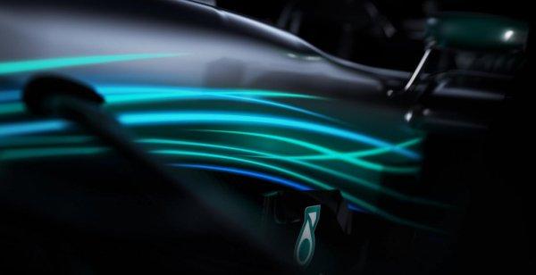 Mercedes-AMG показал тизер нового болида F1 W08 Hybrid