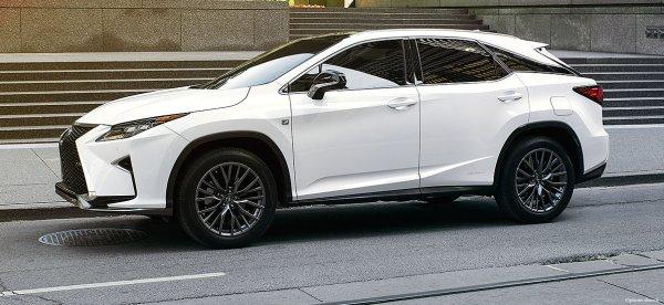 Компания Toyota зарегистрировала название семиместного Lexus RX