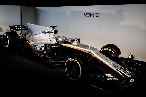 Force India презентовала свой болид VJM10