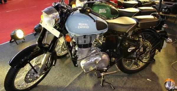 Мотоцикл Royal Enfield Classic 350 обошел по популярности Bajaj Pulsar