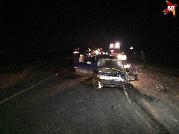 Три человека пострадали в пьяном ДТП под Саратовом
