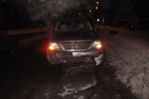 Две иномарки столкнулись ночью в Бессоновском районе