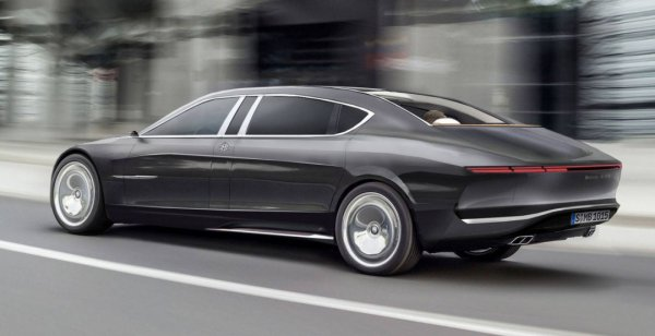 Mercedes-Maybach опубликовал рендер 850 Landaule