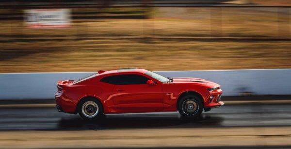 Fireball 900 Camaro смог проехать 400 метров за 9 секунд