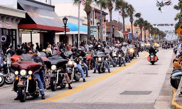 10 марта в Дайтоне начнется фестиваль Daytona Bike Week 2017