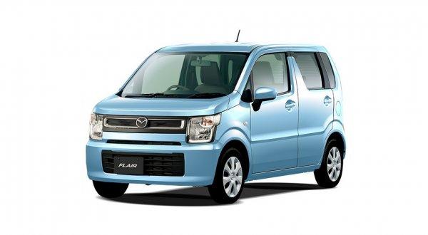 Компания Mazda рассекретила новый кей-кар Flair