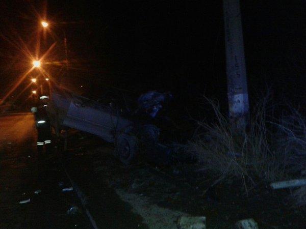 Один человек погиб и два в реанимации после ночного ДТП в Массандре